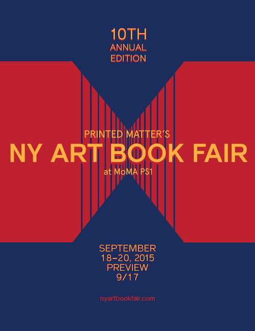 New York Artbook Fair Poster