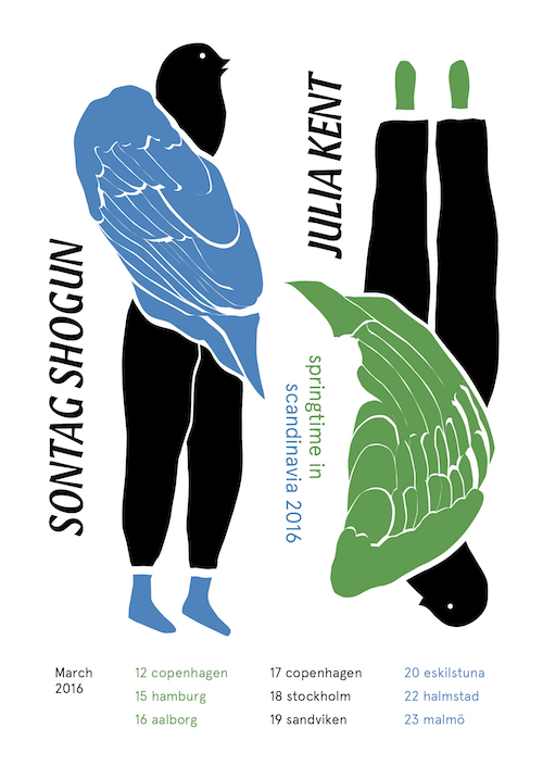 Sontag Shogun Scandanavia Tour Feat Julia Kent